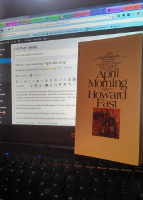 essay of april morning by howard fast